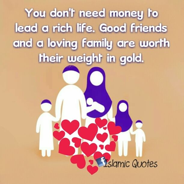 Happy Muslim Family Quotes