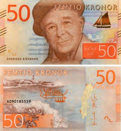 monedas y billetes en Suecia