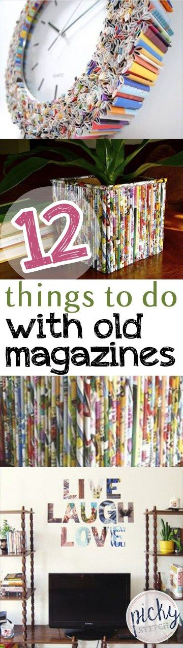 12 Things to Do With Old Magazines - Page 3 of 13 -