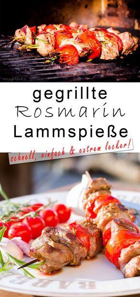 #schmeckedenunterschied #Lammfleisch #Ostern #Lamm #Lammspieße #Rosmarin #lamb #easter #bbq #grillen #Frühling #sommer