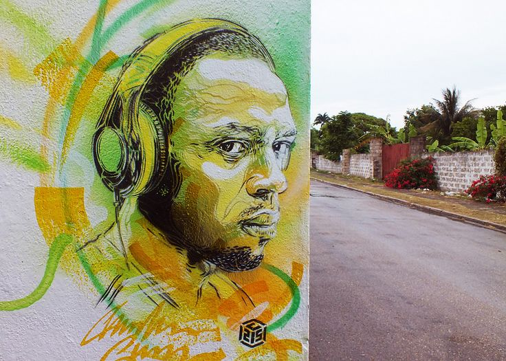 C215 - Salem (Jamaica) | Portait of Usain Bolt | Flickr