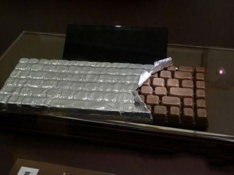 Chocolate Keyboard - teclado de chocolate