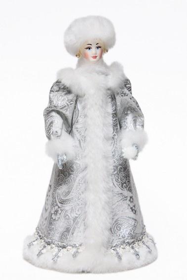 Снегурочка со снежком-Snegurochka