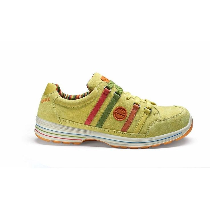 Zapato de seguridad DIKE METEOR MEET S3 Amarillo limón.