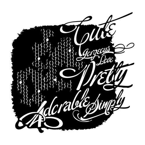 heidi swapp stencils how to use