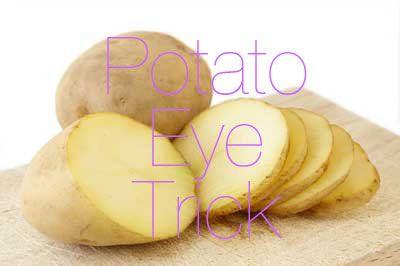 The Potato Eye Trick - using potatoes to brighten your eyes! #MichellePhan #Beauty