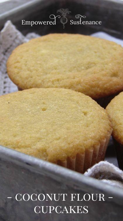 Coconut Flour Cupcakes plus Paleo Frosting Recipes #paleo #GAPSdiet #glutenfree