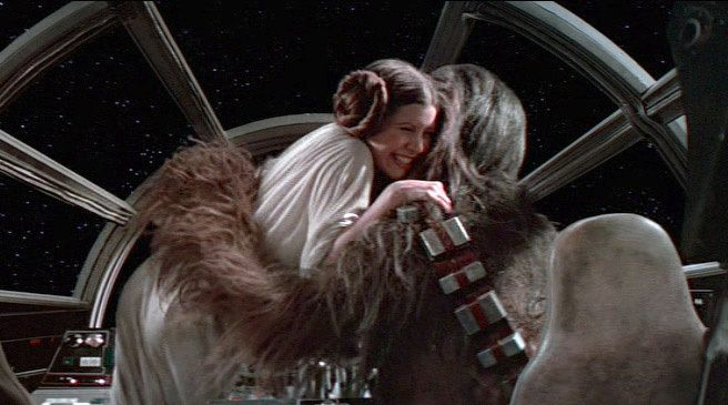 Wookiee hug, the best kind of hug | Movies and Books I ...