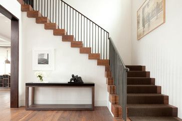 Relaxed Elegance - transitional - Staircase - Minneapolis - Streeter & Associates, Inc.