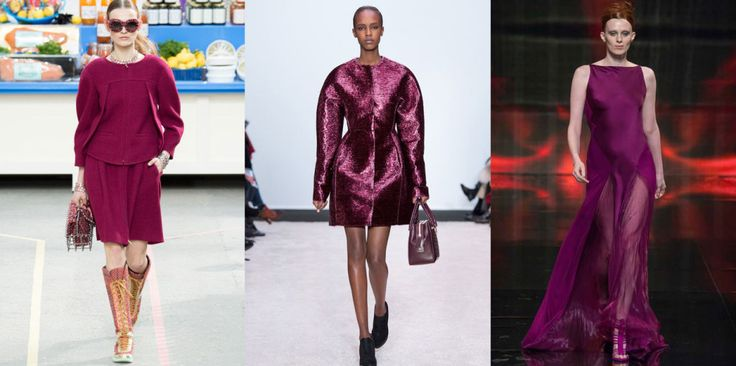 The Colors of FW14 – 10 Ways to Kick Out Black, Grey and Beige #plum #thedailydagny