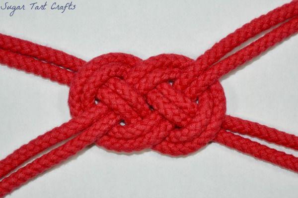 Sugar Tart Crafts: Sailor Knot Embellishment Tutorial