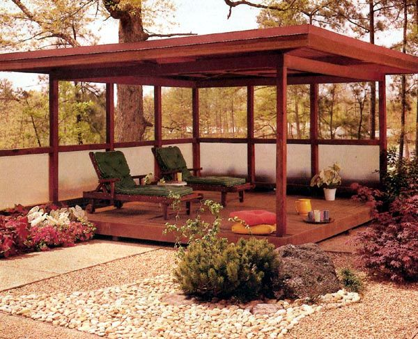 Patio cover project plan 504130 gardens beautiful and for Simple gazebo plans