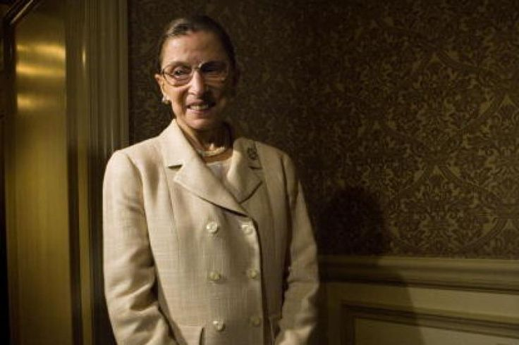 Justice Ruth Bader Ginsburg would pinch herself in court to stop from laughing at Antonin Scalia