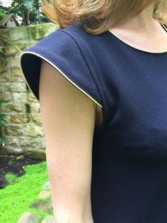 Robe Malo tencel noir (1)