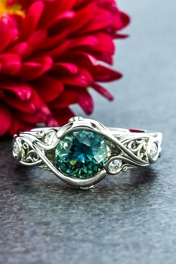 classic shape engagement rings 2