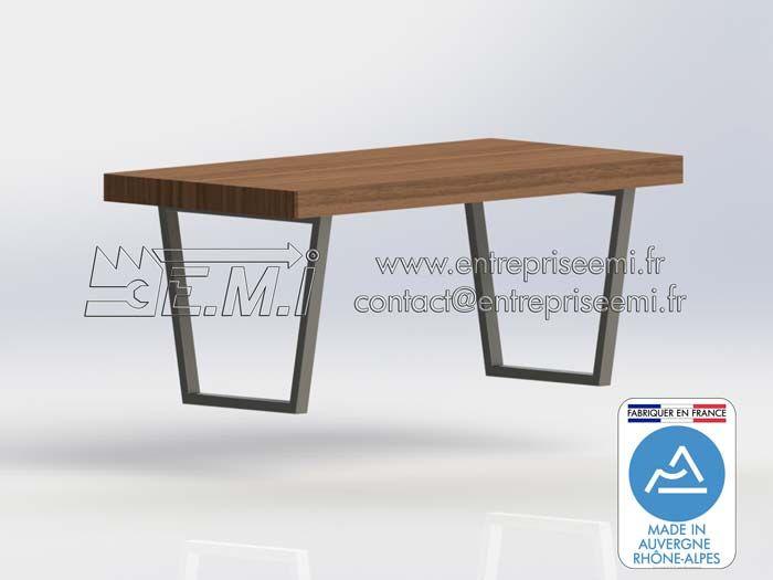les 8 meilleures images du tableau pieds de table design en acier sur pinterest. Black Bedroom Furniture Sets. Home Design Ideas