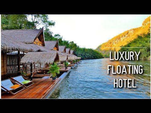 Hôtel Flottant de charme sur la rivière Kwai