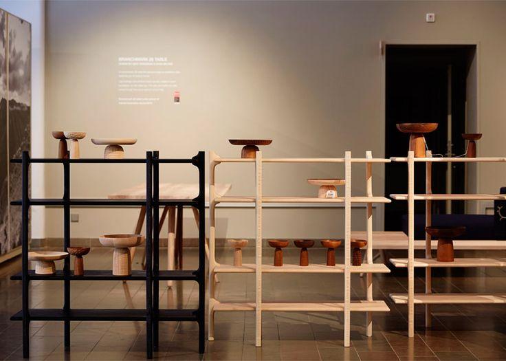 Monica Förster designs hand-carved furniture for Zanat