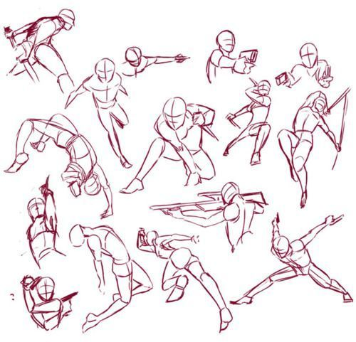 Anime Fighting Stance Drawing Anime Collection Battle Poses Drawing Anime Poses Reference Fighting Drawing Art Reference Poses