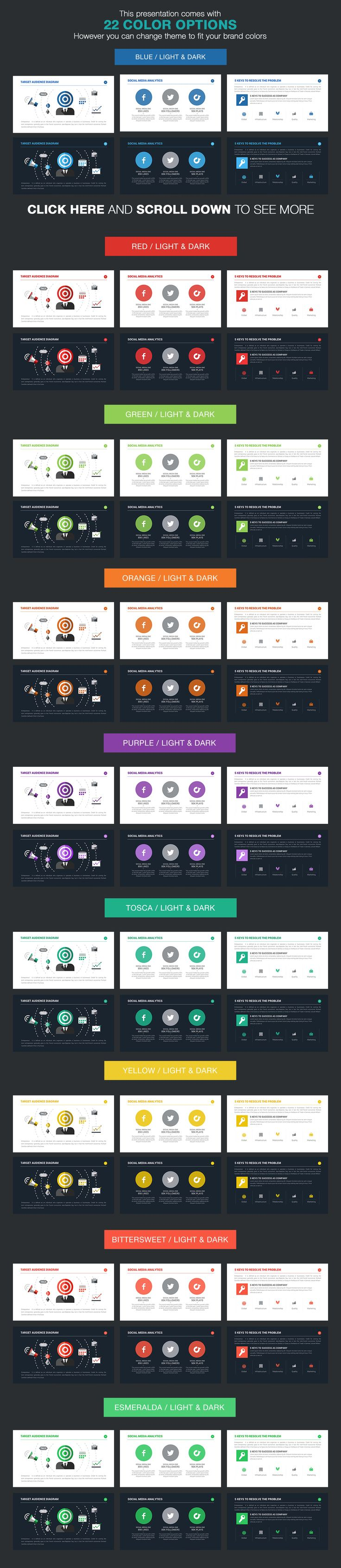 Investor Pitch Deck Powerpoint by Louis Twelve on Creative Market