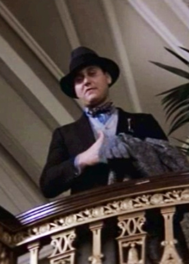 Bow Tie Driver from the Untouchables. He reminds me of Inkheart's Basta :)