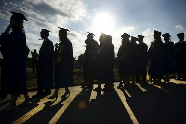 Maple Shade High School Graduation  http://on.cpsj.com/MKobZh