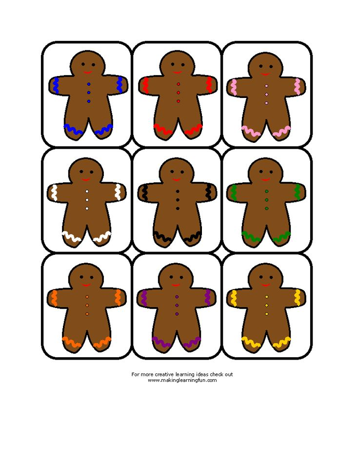 Best Gingerbread Man Images On   Kindergarten Themes