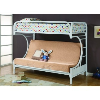 Element Futon Bunkbed White