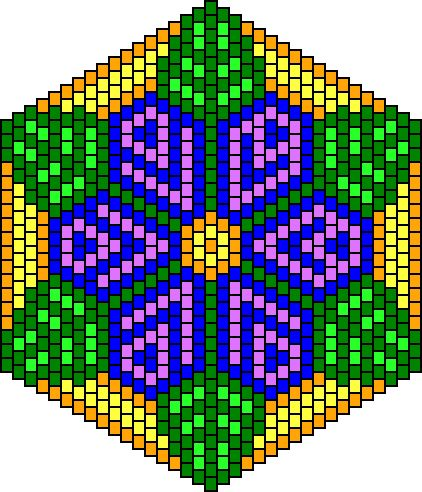 Instructions on how to graph the design for this in beadwork