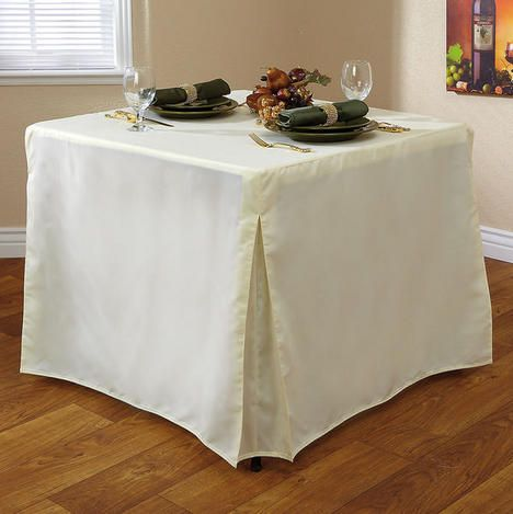 Fitted Card Table Cover $29.99