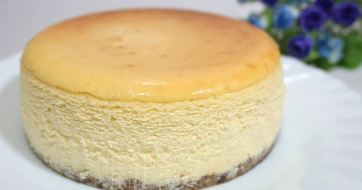 Cheesecake- it either taunts you or rejoices with you. I had my fair share of sunken, dry cracked cakes that it no longer bothers me....