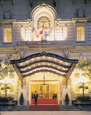 The Fairmont Palliser Hotel, Calgary. One of Canada's grand hotels.