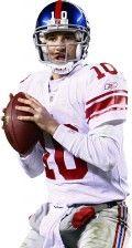 Eli Manning NY Giants #10 Quarterback