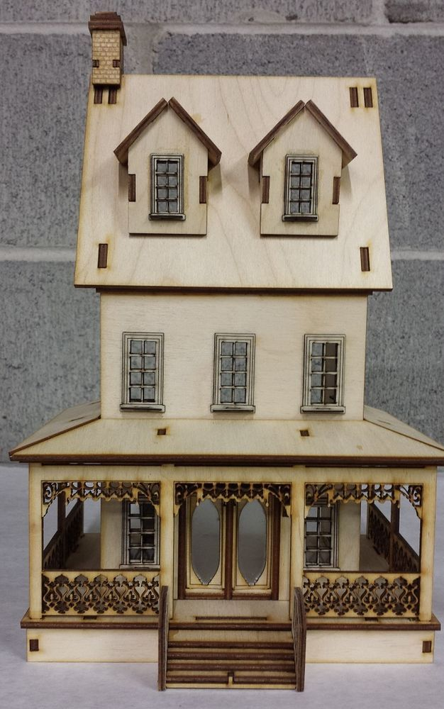 Abriana Country Cottage 1:24 Scale Dollhouse