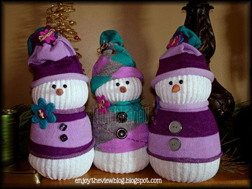 sock craft ideas sock snowman sock and snowman on 2966