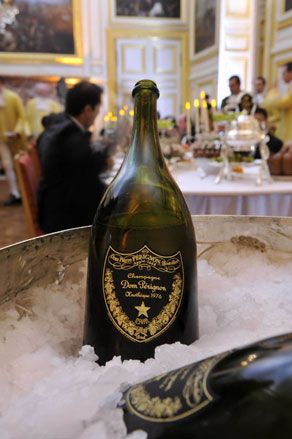 Dom Perignon at Versailles. If you can afford this champagne , enjoy-