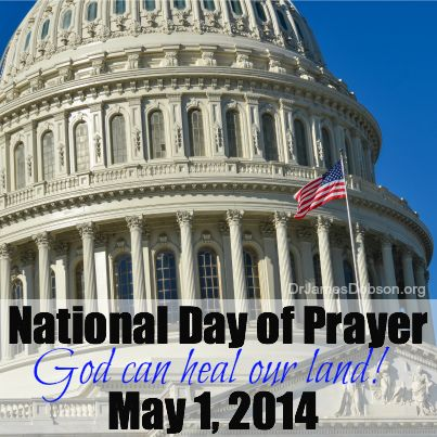 4/30/14 - With National Day of Prayer hours away, the leaders of National Day of Prayer Task Force share with Dr. Dobson their passion to see God heal America.   http://www.drjamesdobson.org/Broadcasts/Broadcast?i=e65fecca-c5d6-49f1-bae1-5c7d6313799c&sc=FPN2014