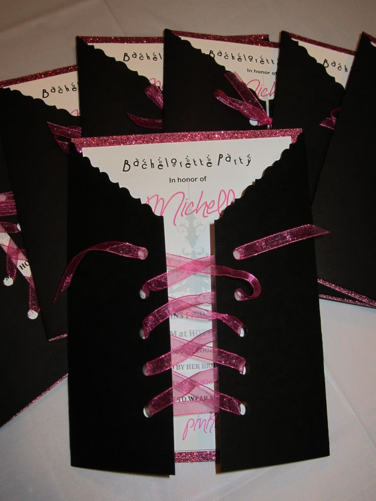 Bachelorette Party Invitation Ideas Homemade