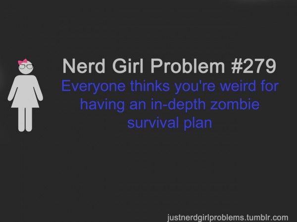 Forum Chatter: The Walking Dead, Music For Kids & Crafty Redecorating: Problems Deutlich, Geek, Nerd Stuff, Nerd Girls Problems, Zombies Apocalypse, Zombies Plans, Nerd Problems, Dieses Problems, Nerd Girl Problems