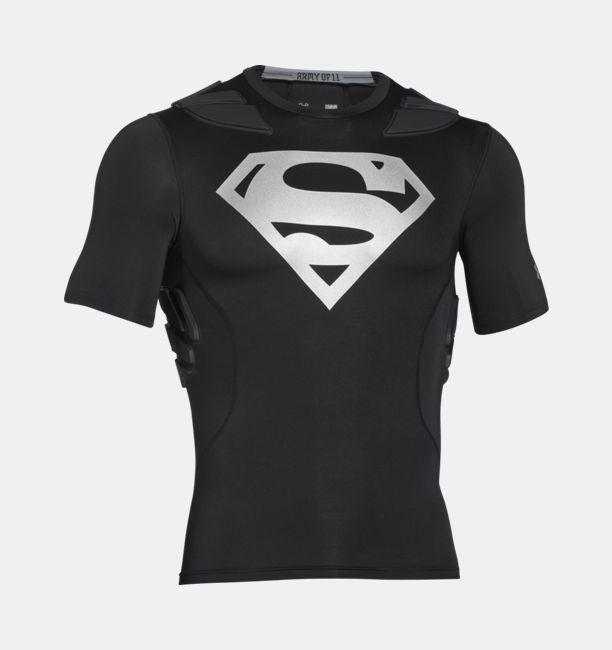 Under Armour Alter Ego Padded Football Compression Superman Shirt Medium Size #UnderArmour #ShirtsTops