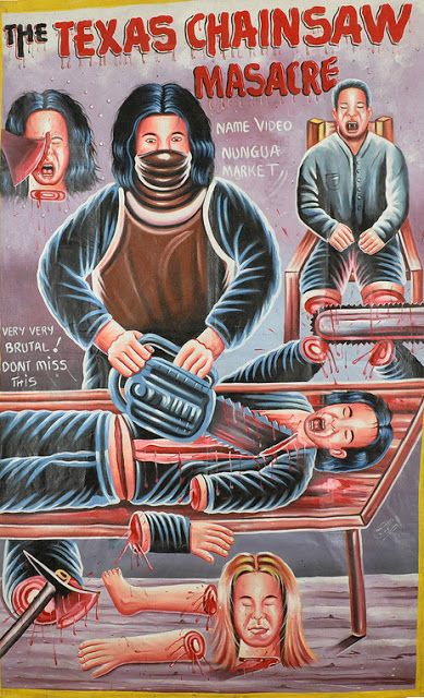 Juxtapoz Magazine - The Golden Age of Hand-Painted Film Posters from Ghana