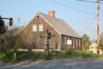 Built in 1754, this was the first house built in Damariscotta, Maine.