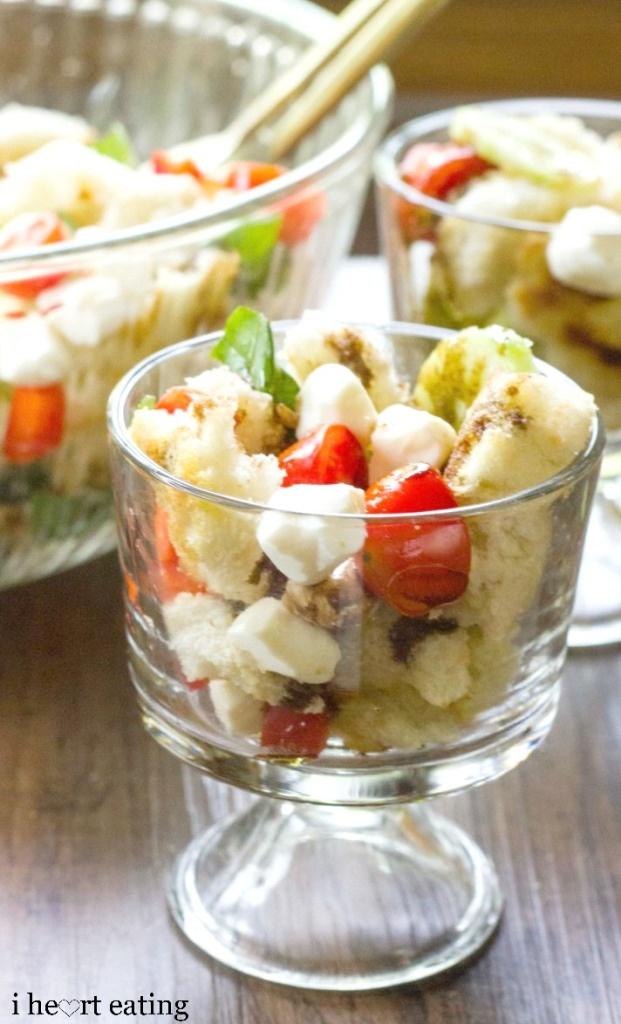 Panzanella Bread Salad - healthy side salad