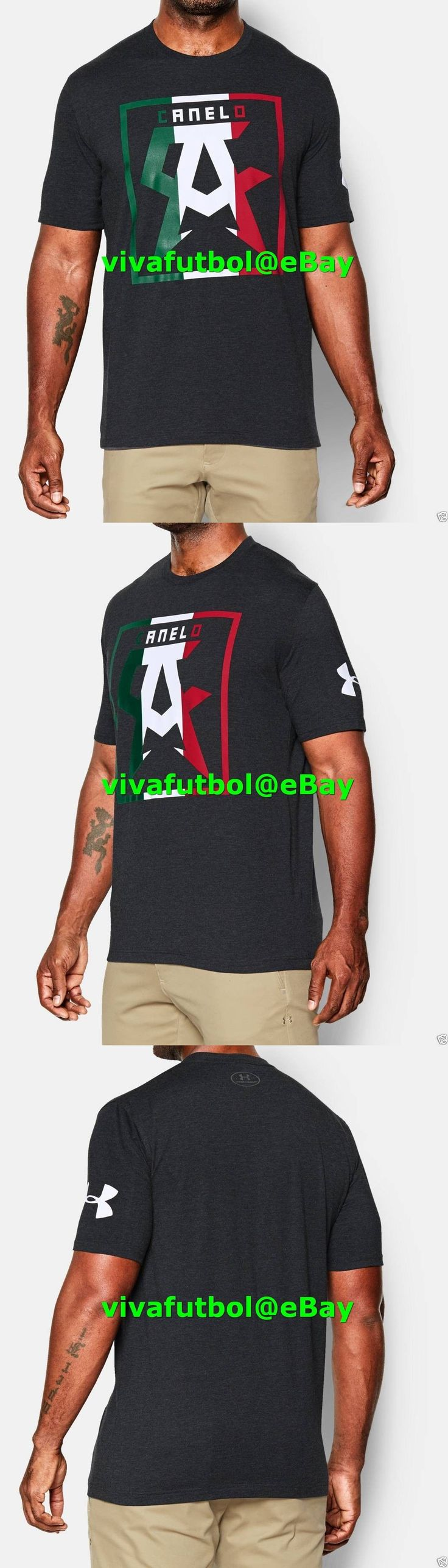 Boxing 1227: New Under Armour Ua Mens Saul Canelo Alvarez Mexico Stamp Black T-Shirt Tee L -> BUY IT NOW ONLY: $54.95 on eBay!