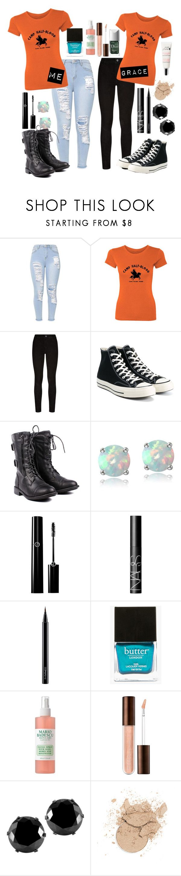 """""""Capture The Flag"""" by rayray27 ❤ liked on Polyvore featuring Paige Denim, Converse, Glitzy Rocks, NARS Cosmetics, MAC Cosmetics, Butter London, Couture Colour, Mario Badescu Skin Care and West Coast Jewelry"""
