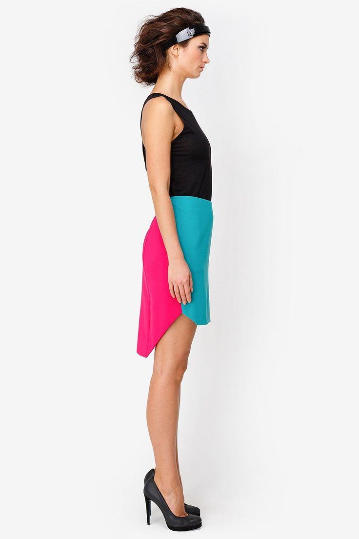 Юбка, Цвет - Зеленый, Артикул - 2015923002046, купить за 9000руб. в Москве: модная дизайнерская одежда в интернет магазине от бренда Чапурин