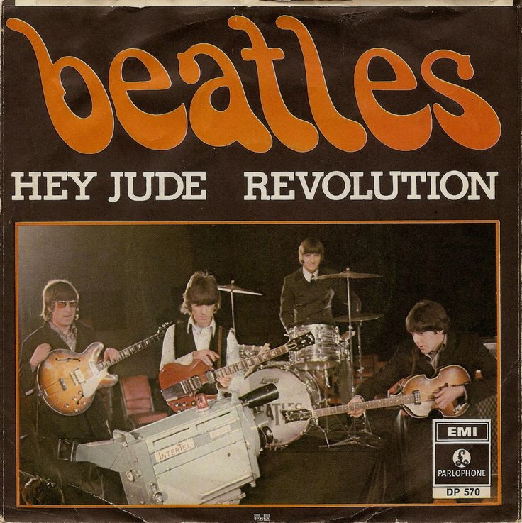 The Beatles 1968 Hey Jude released August 26, 1968