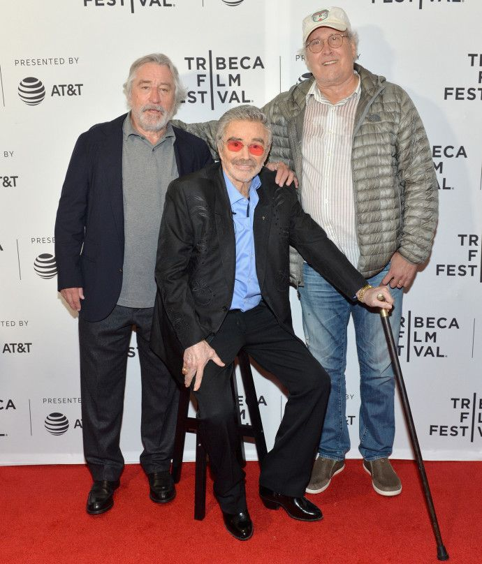 April 2017 - Burt Reynolds required a stool on grueling Tribeca red carpet | Page Six
