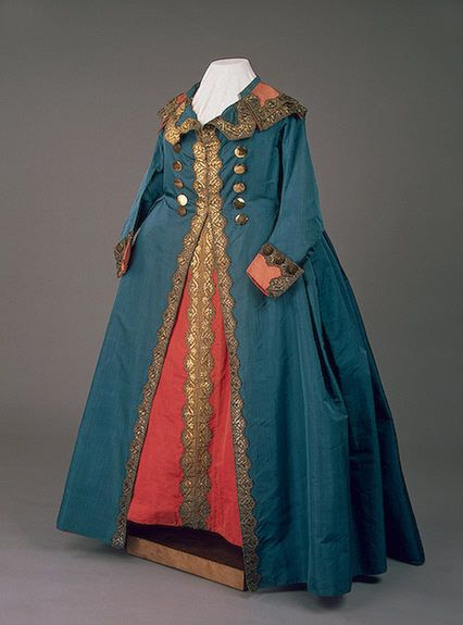 Uniform dress of Catherine the Great, 1789  From the STATE HERMITAGE MUSEUM