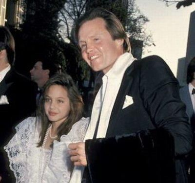 Angelina Jolie and her father John Voigh